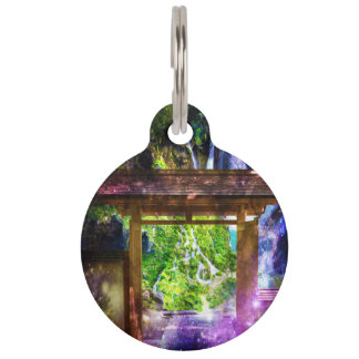 Rainbow Universe's Pathway to Paradise Pet Tag