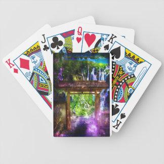 Rainbow Universe's Pathway to Paradise Poker Deck