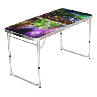 Rainbow Universe's Pathway to Paradise Pong Table