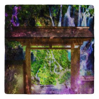 Rainbow Universe's Pathway to Paradise Trivet