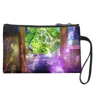 Rainbow Universe's Pathway to Paradise Wristlet
