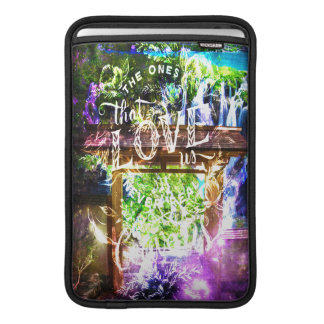 Rainbow Universe's Pathway to the Ones that Love MacBook Sleeve