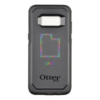 Rainbow Utah map OtterBox Commuter Samsung Galaxy S8 Case