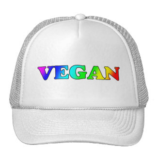 Rainbow Vegan Cap