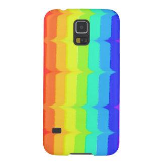 rainbow vintage art pattern Samsung galaxy S5 case