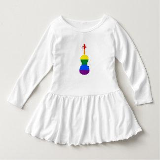 Rainbow Viola Dress