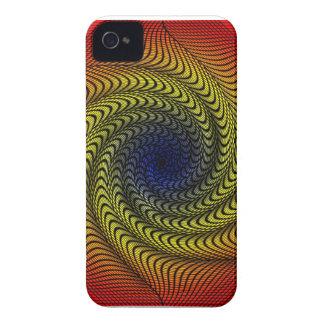 Rainbow Vortex Blackberry Case-Mate Case iPhone 4 Covers