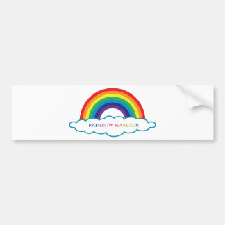 Rainbow Warrior collections Bumper Sticker