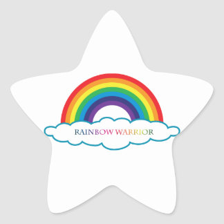 Rainbow Warrior collections Star Sticker