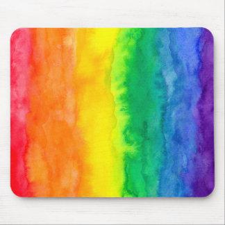 Rainbow Wash Mousepad Mousepads