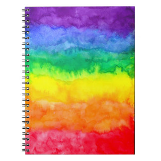 Rainbow Wash Notebook