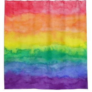 Rainbow Wash Shower Curtain H