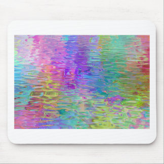 Rainbow Water Reflection Mouse Pads