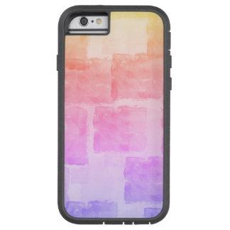 Rainbow Watercolor Art Ombre Pastel Tough Xtreme iPhone 6 Case