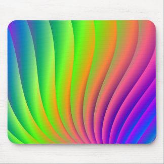 Rainbow Wave Mousepad