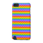 Rainbow Wave Stripes. iPod Touch (5th Generation) Cover
