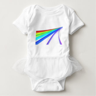 Rainbow waves baby bodysuit