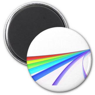 Rainbow waves magnet