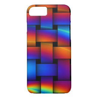 Rainbow Weaving Abstract iPhone 8/7 Cases