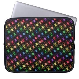 Rainbow Windmills Laptop Case Laptop Sleeve
