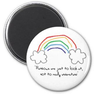 rainbow wisdom magnet