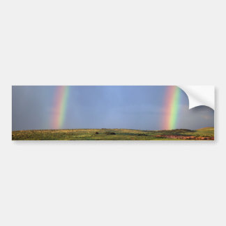 Rainbow wish come true bumper sticker