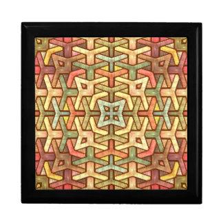 Rainbow Wood Inlay Gift Box
