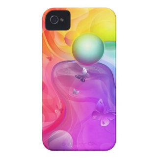Rainbow world iPhone 4 covers