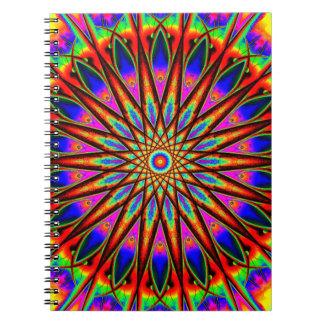 Rainbow World Mandala Notebook