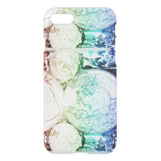 Rainbow World Map Atlas Design iPhone 8/7 Case