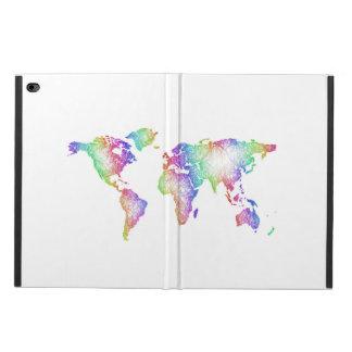 Rainbow World map Powis iPad Air 2 Case