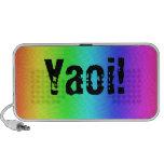 Rainbow Yaoi Laptop Speakers