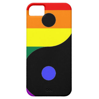 Rainbow Yin and Yang - LGBT Pride Rainbow Colors Barely There iPhone 5 Case