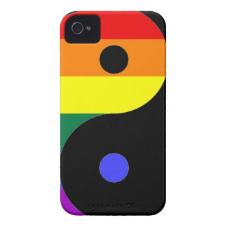 Rainbow Yin and Yang - LGBT Pride Rainbow Colors iPhone 4 Covers