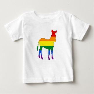 Rainbow Zebra Baby T-Shirt