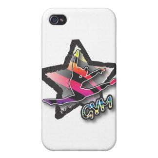 Rainbow Zebra Gymnastics Covers For iPhone 4