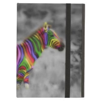 Rainbow Zebra Case For iPad Air