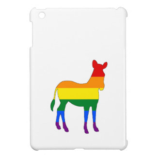 Rainbow Zebra iPad Mini Case