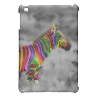 Rainbow Zebra iPad Mini Cases