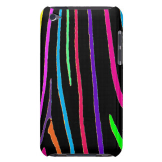 Rainbow Zebra Print iPod Touch Case