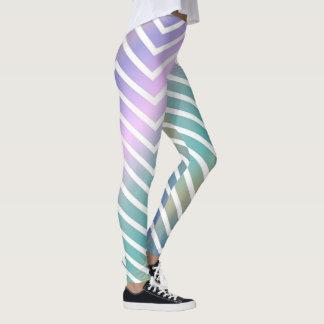 Rainbow Zigzags Leggings