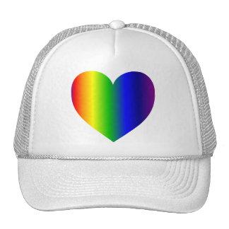 RainbowHeart Cap
