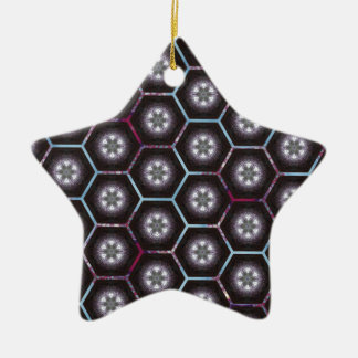 rainbowhex ceramic ornament