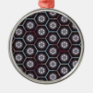 rainbowhex Silver-Colored round decoration