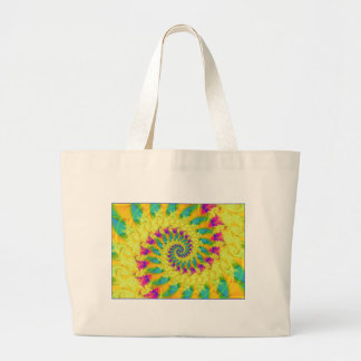rainbow's gold jumbo tote bag