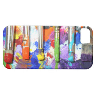 Rainbows In Progress Paint Brush Photography Case For The iPhone 5