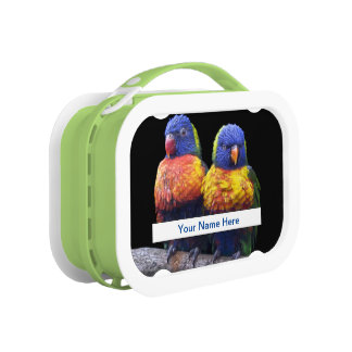 Rainbows Lunch Box (Enter Your Name)