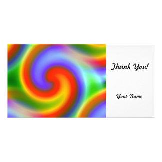 Rainbows Photo Card Template