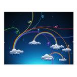 Rainbows Post Cards