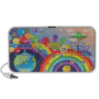 Rainbows Travel Speaker